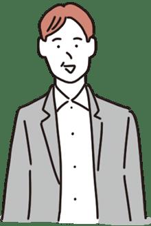 50代男性経営者の絵