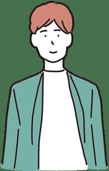 30代男性公務員の絵